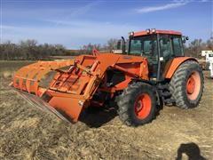 2011 Kubota M135X MFWD Tractor W/LA2253 Loader