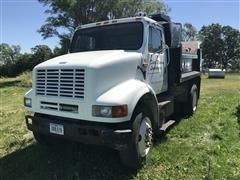 1991 International 8100 S/A Dump Truck