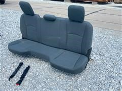 2019 Dodge Pickup Back Seat