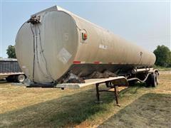 1969 Trailmobile F12S 4CBH T/A Tanker Trailer