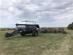 flexi-coil 5000 Hoe Air Seeder & 1720 Air Cart