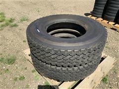Bridgestone M843 12R22.5 Radial Tires
