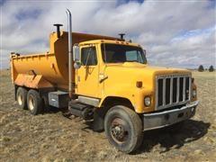 1979 International F-2554 T/A Dump Truck