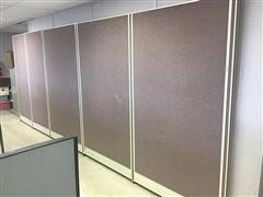 Office Cubicle & Stationary Walls