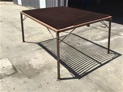 Steel Plasma Cutting Table
