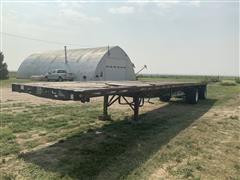1995 Great Dane T/A Spread Axle Flatbed Trailer