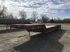 1971 Timpte L0F3140 Tri/A Fixed Neck Lowboy
