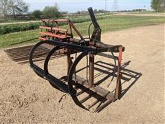 Farmhand Quick Attach Grapple Fork Hay Bucket