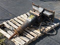 2015 Bobcat HB680 175# Hammer Skid Steer Attachment