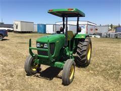 2010 John Deere 5055D Compact Utility Tractor