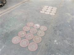 White 6000 Series Planter Plates/Seed Discs