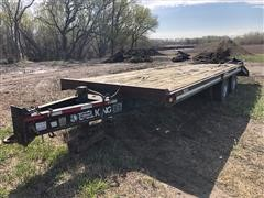 1997 Trail King TK20-2400 T/A Flatbed Trailer