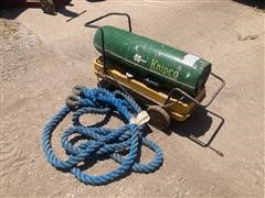 Knipco F15OD Space Heater And Tow Rope
