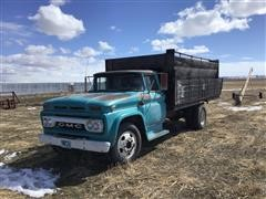 1963 GMC 3505 S/A Grain Truck (INOPERABLE)