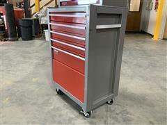 Craftsman 5-Drawer Steel Rolling Tool Box Full Of Tools