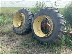 Firestone 18.4-34 Clamp On Duals