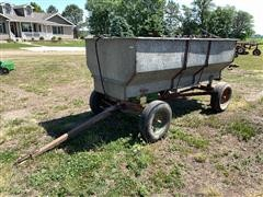 Electric Wheel Flare Box Seeder Wagon