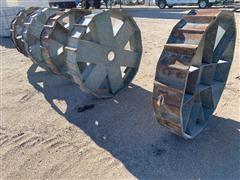 Big John 8 Lug Galvanized Pivot Wheels