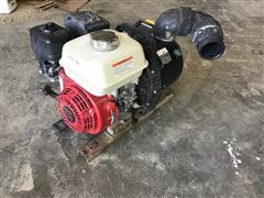 "Honda GX200 Motor W/3"" Liquid Transfer Pump"