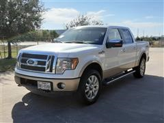 2012 Ford F150 King Ranch 4x4 Crew Cab Pickup