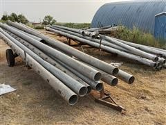 Irrigation Pipe And Pipe Trailers
