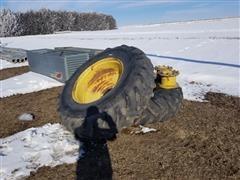 John Deere 20.8-38 Tires, Rims And Extensions
