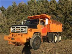 1986 GMC ME6500 T/A Dump Truck