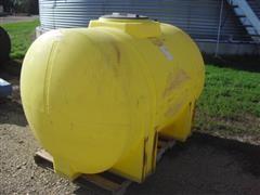 535 Gallon Yellow Poly Tank