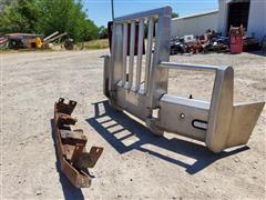 Peterbilt 386 Slam Lock Front Bumper