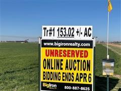 153.02+/- Acres Reno County, KS