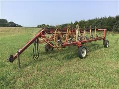 Hesston 3983 Hi-Capacity 12-Wheel Rake