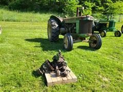 1958 John Deere 820 2WD Tractor