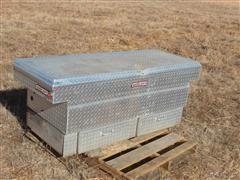 Weather Guard Aluminum Across Pickup Bed Tool Box