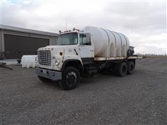 1981 Ford LNT8000 T/A Liquid Fertilizer Tender Truck