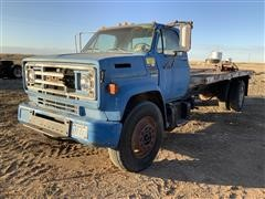 1973 Chevrolet C65 Flatbed Truck (INOPERABLE - FOR PARTS ONLY)