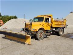 1999 International 4900 Plow/Dump Truck