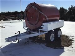 Shop Built Fuel Transfer Trailer