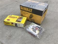 "DEWALT 10"" Compound Miter Saw, Laser Level, & Grill Thermometer"