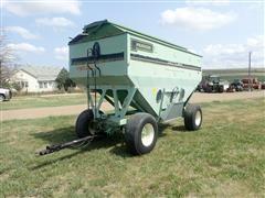 Parker 525 Gravity Wagon W/Metal Topper