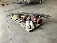 Berkeley 422447 Water Pump W/Engine, Hoses, & SCBA Bottles