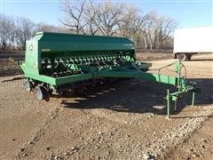 2001 John Deere 1560 No-Till Drill W/2-Bar Harrow