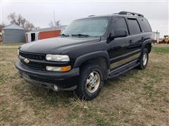 2001 Chevrolet Z71 Tahoe K1500 4x4 SUV