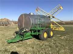 1200 SS Shop Built Pull-Type Sprayer