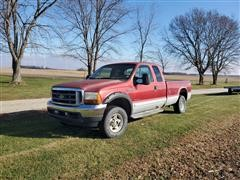 2001 Ford F250 4x4 Extended Cab Pickup (INOPERABLE)