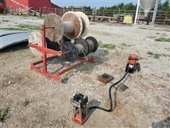 Gates Power Crimp 601 Hydraulic Hose Fitting Crimper & Hose