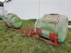 Snyder 200-Gal Saddle Tanks W/Mounting Brackets