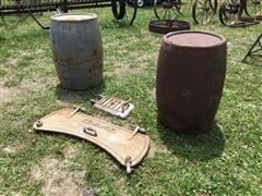 Kewanee Steel Barrels & Cast Iron Boiler Covers