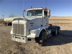 1995 Kenworth T800 T/A Day Cab Truck Tractor