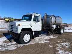 1985 International 1754 S/A Liquid Tender Truck W/Diesel