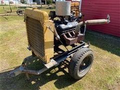 Chevrolet 454 Power Unit On Cart
